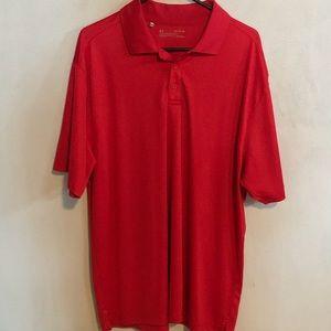 Under Armour Golf Short in Red, XL